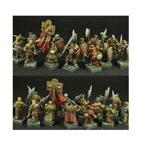 Scibor 28FM0101 - Town Guard [12 miniatures] 28mm