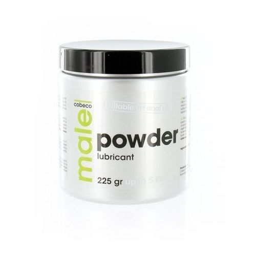 Proszek nawilżający analny - male powder lubricant 225 gram marki Male!
