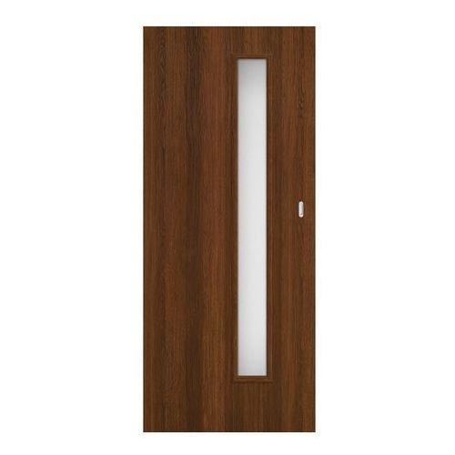 Drzwi pokojowe przesuwne Exmoor 80 bezfelcowe orzech north