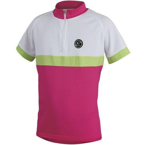 Etape koszulka rowerowa dziecięca bambino 152/158 pink/white