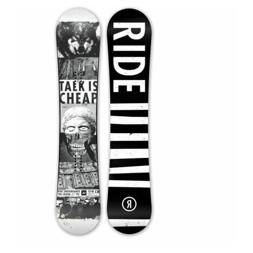 Deska Snowboardowa Ride CROOK 2016, 3435
