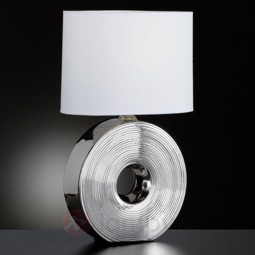 Honsel Eye Lampa stołowa Srebrny, 1-punktowy - Klasyczny - Obszar wewnętrzny - Eye - Czas dostawy: od 2-4 dni roboczych (4001133562003)