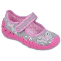 buty dziewczęce speedy 26 różowy/szary marki Befado