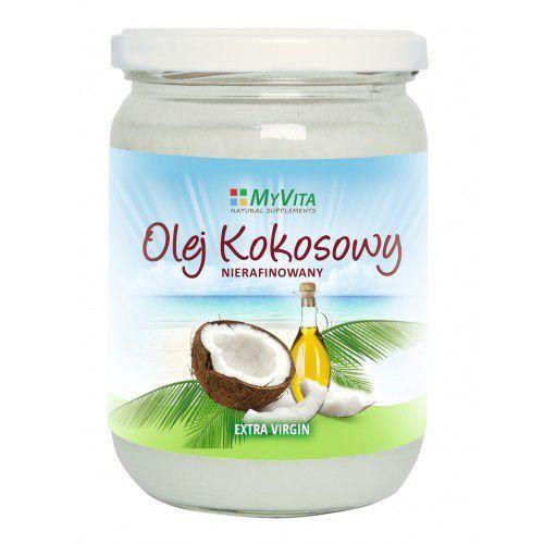 Olej kokosowy nierafinoway  500ml marki Myvita