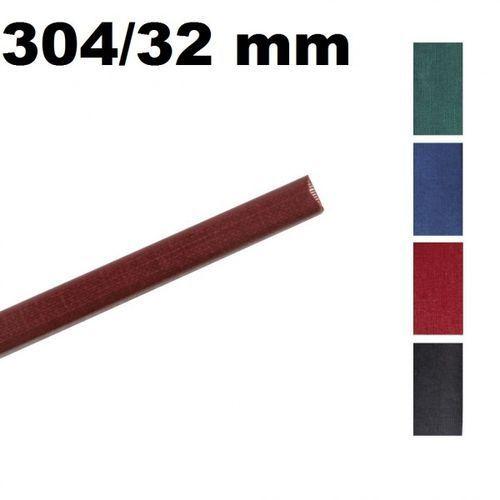 Kanały O.CHANNEL Classic 304 mm x 32 mm (do 300 kartek), czarne, 10 sztuk - Autoryzowana dystrybucja - Szybka dostawa