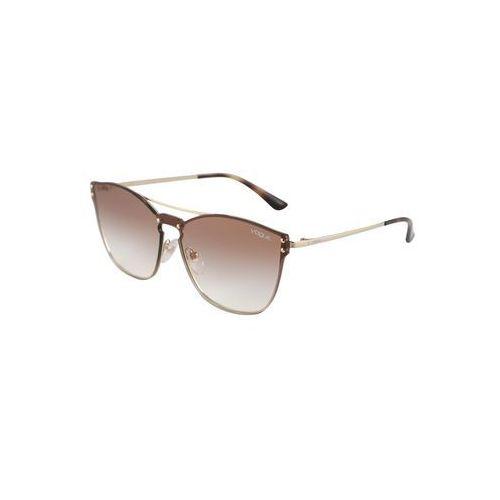 Vogue eyewear okulary przeciwsłoneczne brązowy / złoty