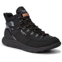 Trzewiki PEPE JEANS - Hike Mountain Nylon PMS30564 Black 999, w 6 rozmiarach
