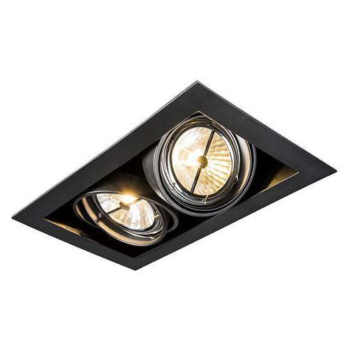 Oprawa do wbudowania biała 2-źródła światła - oneon 111-2 marki Qazqa