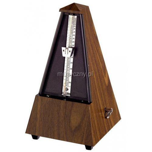 Wittner 845131 Piramida metronom mechaniczny bez akcentu, kolor orzech