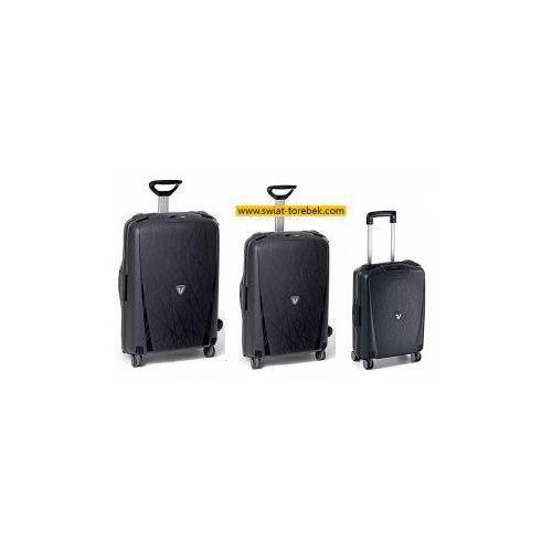 Komplet walizek RONCATO LIGHT zestaw duża + średnia + mała/ kabinowa 4 koła materiał Polipropylen zamek szyfrowy z systemem TSA, 507115071250714