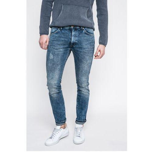 - jeansy larston bluee goods marki Wrangler