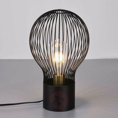 Lampa stołowa Reality DAVE Czarny, 1-punktowy - Vintage - Obszar wewnętrzny - DAVE - Czas dostawy: od 3-6 dni roboczych (4017807403503)