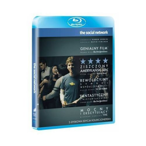 Social Network (Blu-Ray) - David Fincher (film)