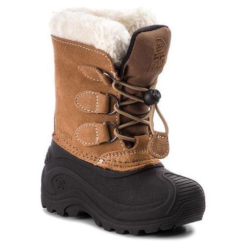 Kamik Śniegowce - snowdasher wk8315 putty beige