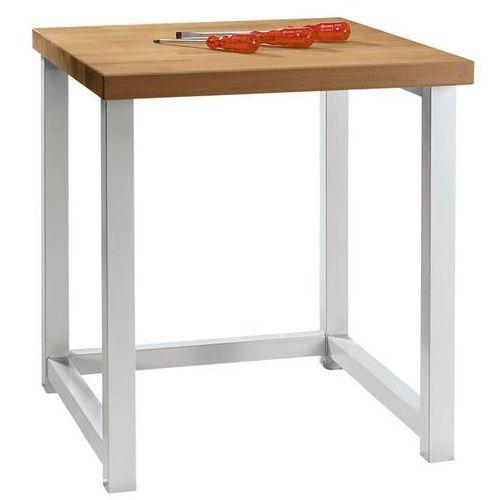 Anke werkbänke - anton kessel Kompaktowy stół warsztatowy, blat z litego drewna bukowego, szer. 605 mm, bez sz