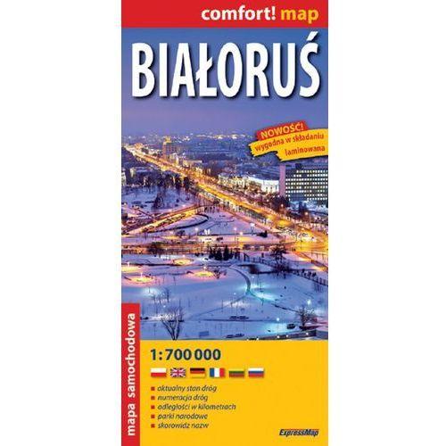 Białoruś 1:700 000. Laminowana mapa samochodowa. Wyd. 2014 (9788375466805)
