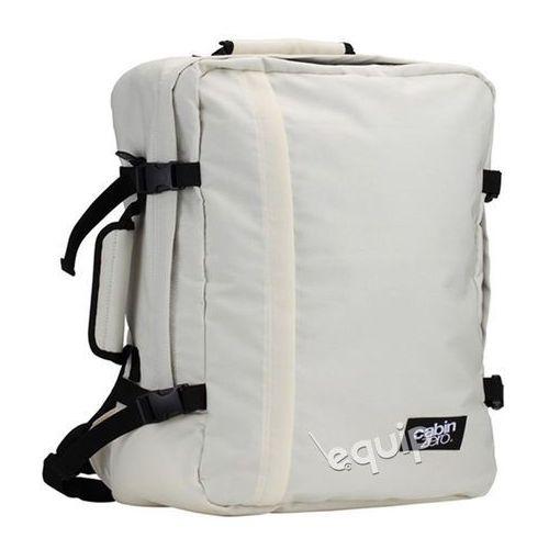 Cabinzero Plecak torba podręczna mini + pokrowiec organizer gratis - cabin white