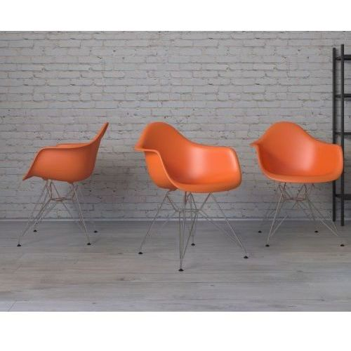 D2.design Krzesło p018 pp inspirowane dar - pomarańczowy (5902385712989)