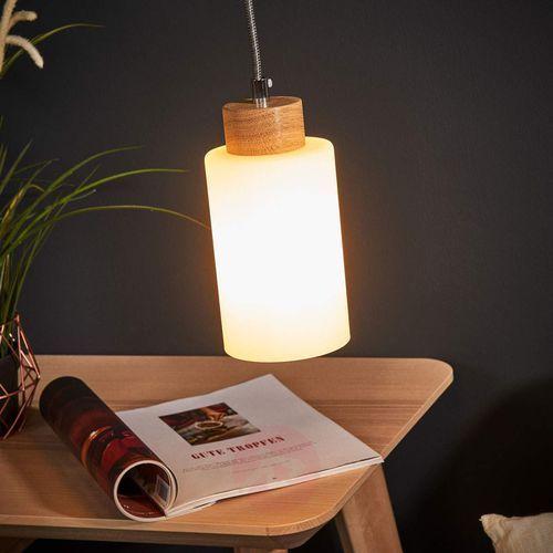 Lampa wisząca spotlight bosco 1711174 dąb olejowany-antracytowy + darmowy transport! marki Spot-light