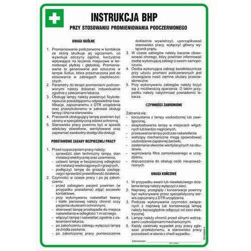 Instrukcja BHP przy stosowaniu promieniowania podczerwonego. Najniższe ceny, najlepsze promocje w sklepach, opinie.