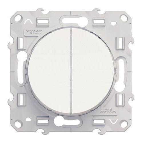 Łącznik świecznikowy Schneider Electric Odace biały (3606480563324)
