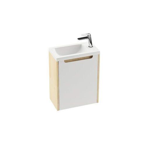 drzwiczki szafki sd classic 400 prawe, biały połysk x000000421 marki Ravak