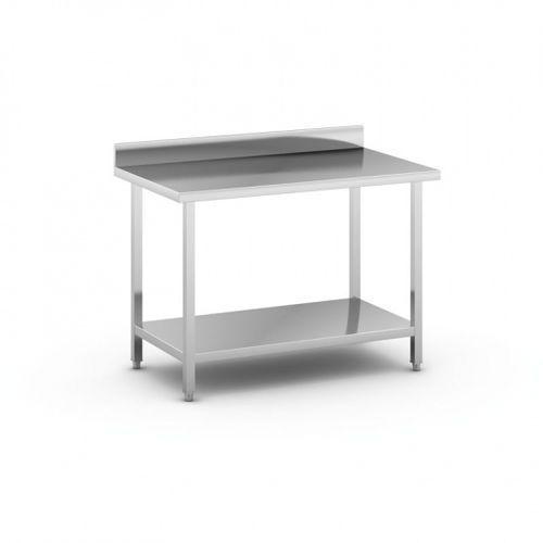 Stół roboczy ze stali nierdzewnej z półką, 1200 x 700 x 850 mm marki B2b partner