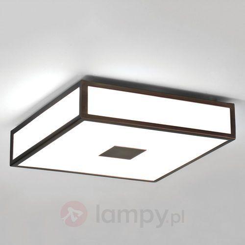 Mashiko 300 Square ceiling light bronze, 0639