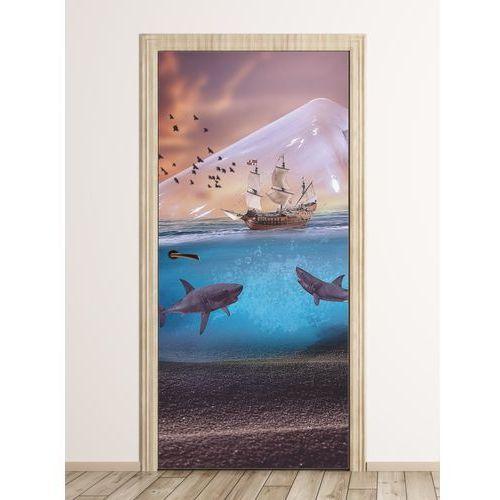 Wally - piękno dekoracji Fototapeta na drzwi dla dzieci piraci fp 6019