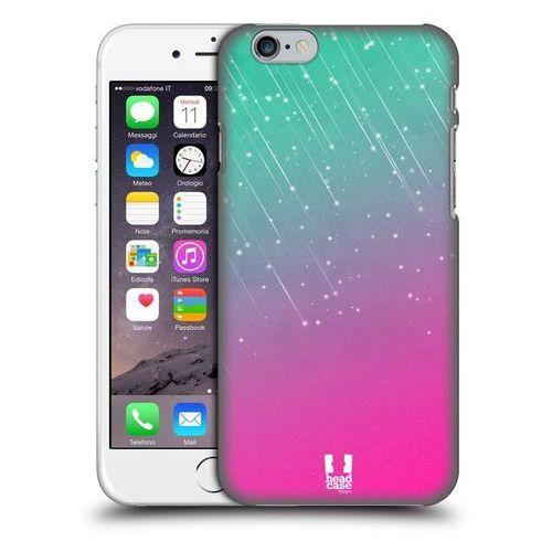 Etui plastikowe na telefon - Neon Rain Ombre AQUA PINK, kolor różowy