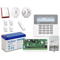 Zestaw SATEL PERFECTA 16-SET, LCD, 4 x ruch, 1 x otwarcie, 1 x dym, 1 x czad, Perfecta 16, 7 czujek
