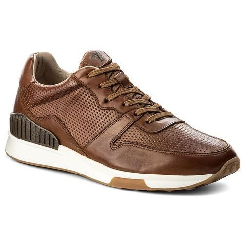 Sneakersy MARC O'POLO - 801 23733502 102 Dark Cognac 729, kolor brązowy