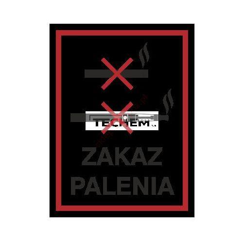 Znak zakaz palenia e-papierosów i papierosów 150x200 marki Techem