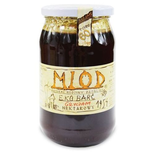 Eko barć (patalas) (miody) Miód nektarowy gryczany bio 1 kg - eko barć (patalas) (5902488061823)