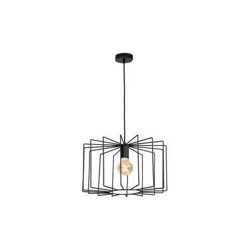 Luminex Fresno 1175 lampa wisząca zwis 1x60W E27 czarna (5907565911756)