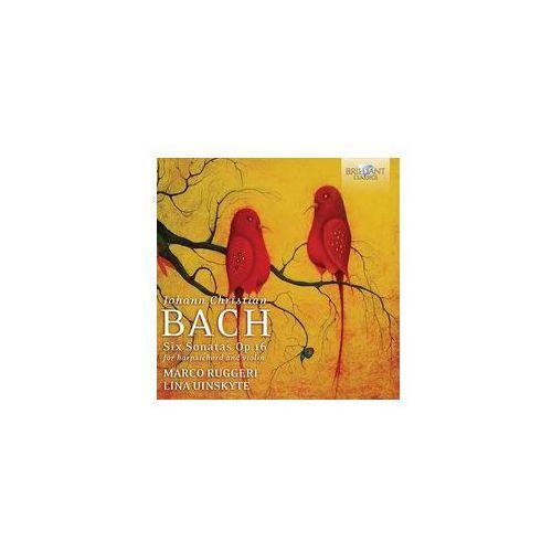 J. C. Bach: Sonatas For Harpsichord And Violin