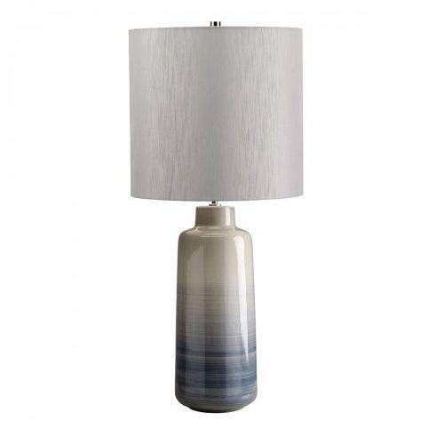 Bacari Large Nocna Elstead BACARI/TL LRG 74cm ceramika-niebieskawy-srebrny