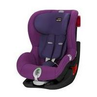 Romer Fotelik samochodowy king ii ls 9-18 kg (black series mineral purple)