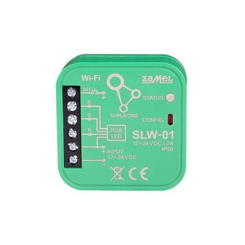 Zamel Sterownik led rgb wi-fi slw-01 supla (5903669225539)
