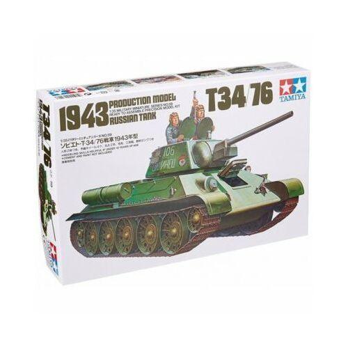 Russian t34/76 1943 tank - darmowa dostawa od 199 zł!!! marki Tamiya