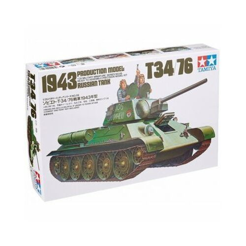 Tamiya Russian t34/76 1943 tank - darmowa dostawa od 199 zł!!!