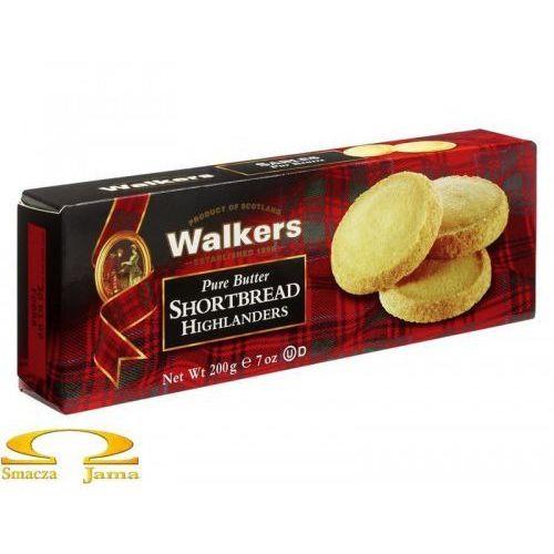 Ciastka maślane shortbread highlanders 200g marki Walkers