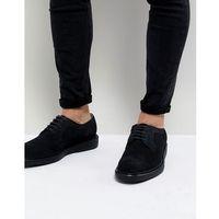 Dead Vintage Suede Brogue Shoes - Navy