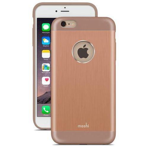 iglaze armour - etui aluminiowe iphone 6s plus / iphone 6 plus (sunset copper) marki Moshi