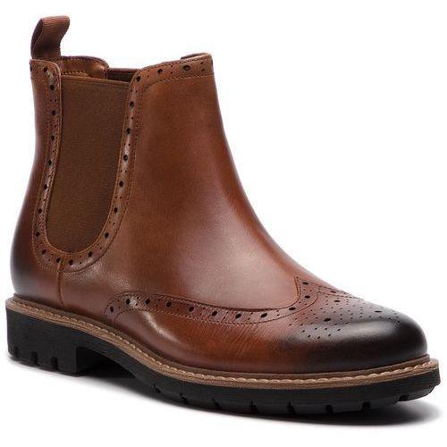 Sztyblety - batcombe top 261281457 dark tan leather marki Clarks