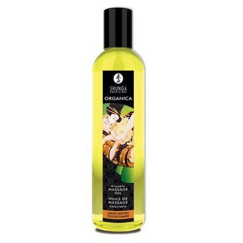 Olejek do masażu organiczny - massage oil organic almond sweetness migdały marki Shunga