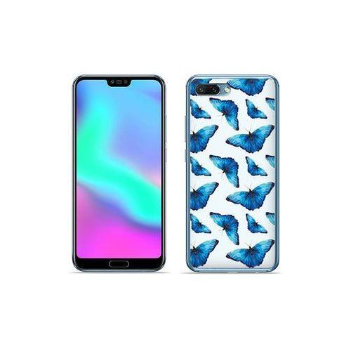 etuo Fantastic Case - Huawei Honor 10 - etui na telefon Fantastic Case - niebieskie motyle, ETHW711FNTCFC049000