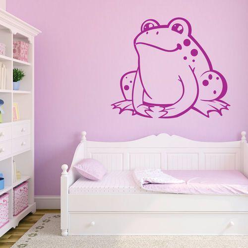 Naklejka na ścianę dla dzieci żabka 2390