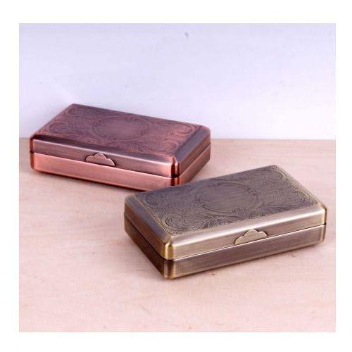 Pudełko na tytoń z uchwytem na bibułki, kup u jednego z partnerów
