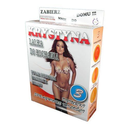 Dmuchana lalka ciemnowłosa Krystyna 3 otwory, 26-00009. Najniższe ceny, najlepsze promocje w sklepach, opinie.